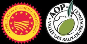 Logo AOP des Baux de Provence